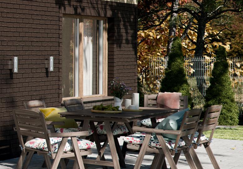 Чтобы быстро и легко смонтировать фасадные панели необходимы только два финишные элементы .