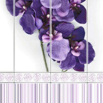 Orchidea Viola Deko