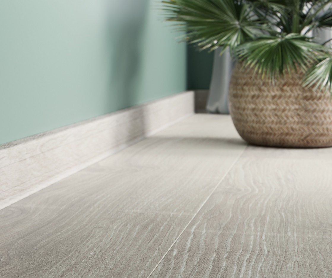 Match skirting boards to your flooring!